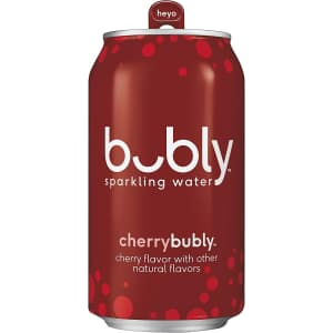 bubly Sparkling Water 12-oz. Can 18-Pack for $5.95 via Sub & Save