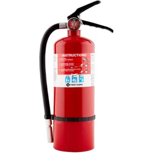 First Alert PRO5 Rechargeable Heavy Duty Plus Fire Extinguisher for $42