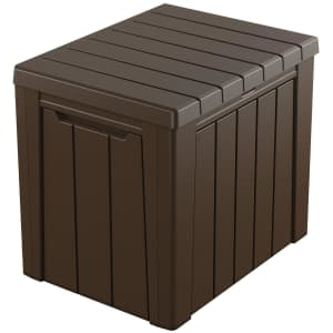 Keter Urban 30-Gallon Outdoor Deck Box/Storage Table for $35 for members