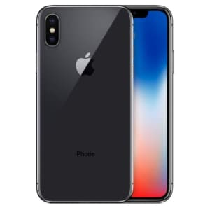 Used Unlocked Apple iPhone X 64GB from $250