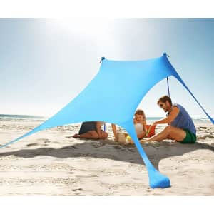 KMM 7- x 7-Ft. UV Shade Tent for $55