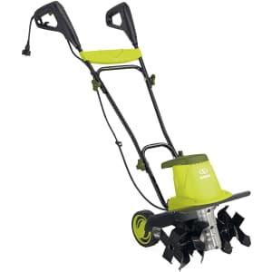 """Sun Joe 16"""" 12A Electric Garden Tiller/Cultivator for $99"""