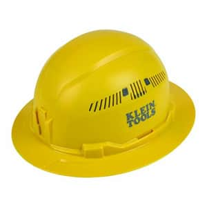 Klein Tools (KLEBE) Klein Tools 60262 Hard Hat, Vented, Full Brim Style, Padded Self-Wicking for $35