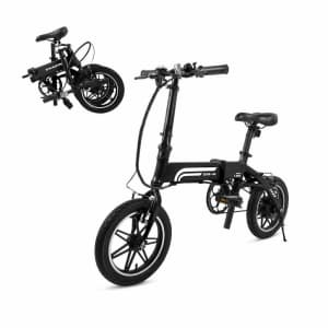 Refurb Swagtron Swagcycle EB-5 Pro Folding Electric Bike for $814