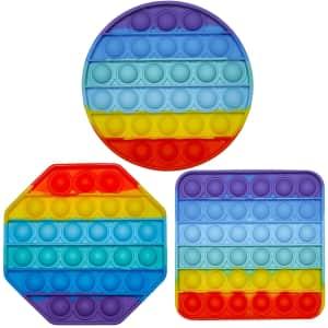 Luriva Pop Sensory Fidget Toy 3-Pack for $11