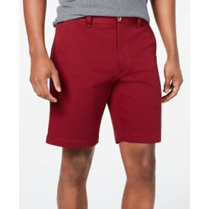 """Club Room Men's Regular-Fit 7"""" 4-Way Stretch Shorts for $19"""