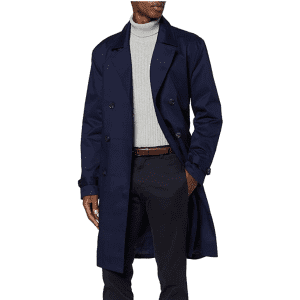find. Men's Smart Cotton Trench Coat for $36