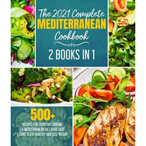 """The 2021 Complete Mediterranean Cookbook"" Kindle eBook: Free"