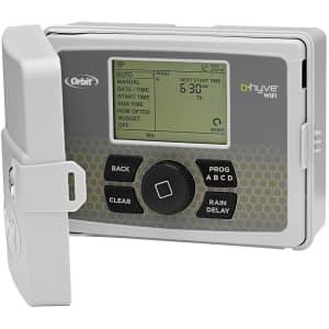 Orbit B-hyve 6-Station Indoor/Outdoor Smart Sprinkler Controller for $100