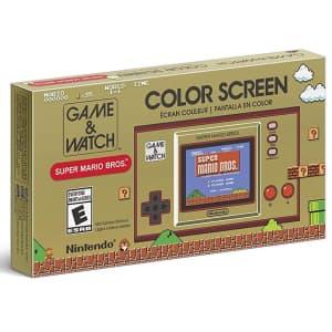 Nintendo Game & Watch: Super Mario Bros Handheld for $40
