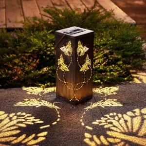 Jjalights LED Solar Lantern 2-Pack for $22