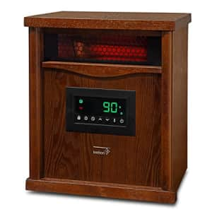 Ivation Portable Electric Space Heater, 1500-Watt 6-Element Infrared Quartz Mini Heater With for $200