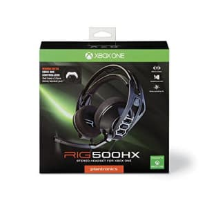 Plantronics Gaming Headset RIG 500HX XB1 for $40