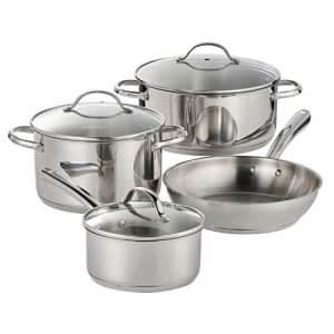Tramontina 7 Pc Stainless Steel Cookware Set for $111