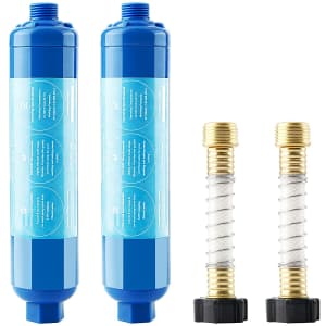Goldpar RV and Marine Inline Water Filter 2-Pack for $20