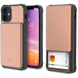 Design Skin iPhone 12 Mini Wallet Case for $13