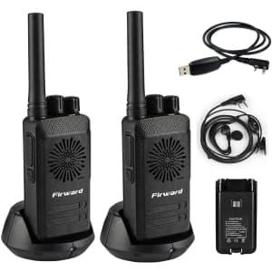 Firward Updated Long Range 2-Way Radios from $19