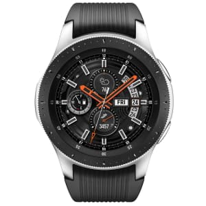 Samsung Galaxy 46mm Bluetooth Watch w/ Extra Charger for $139