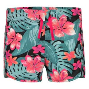 Hurley Girls High-Waisted Shorts, Multi/Floral, M for $15