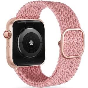 Veesimi Braided Elastic Watch Band for Apple Watch for $4.75 w/ Prime