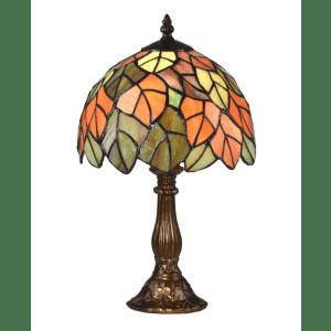 Springdale Lighting Cape Regina Bronze Tiffany Lamp for $77