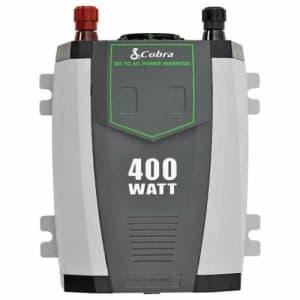 Cobra CPI 490 Compact 400W Power Inverter for $20