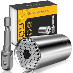 Yuakuod Universal Socket Tool w/ Power Drill Adapter for $14