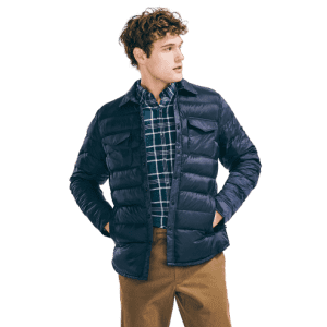 Nautica Men's Stripe-Stitched Ripstop Jacket for $50