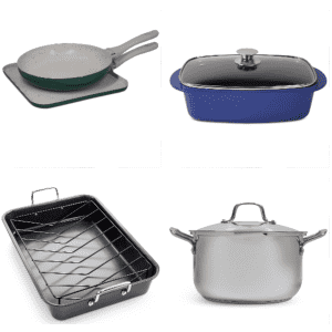 One Day Cookware Sale at Macy's: at least 67% off, from $10