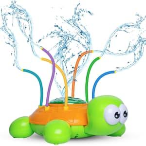 Beewarm Turtle Sprinkler Toy for $6