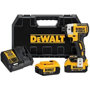 DEWALT 20V MAX XR Impact Driver Kit, Brushless, 3-Speed, 1/4-Inch, 4.0-Ah (DCF887M2) for $303