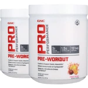 GNC Pro Performance Pre-Workout: 2 for $12