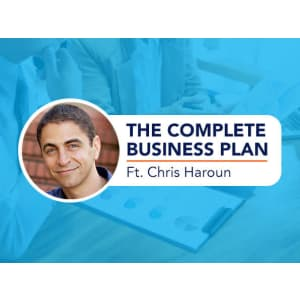 The Complete Business Plan In One Course Ft. Chris Haroun for $11