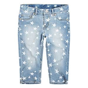 Levi's Girls' Big Denim Skimmer Shorts, Nirvana, 10 for $27