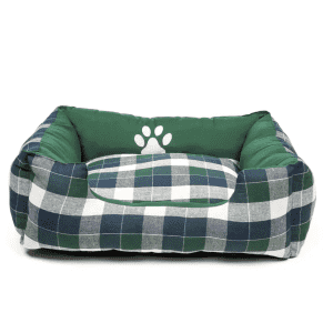 Duck River Textile Hasley Square Pet Bed for $12