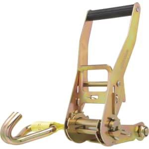 SmartStraps Commercial-Grade Ratchet Tie-Down w/ Double J-Hooks for $10