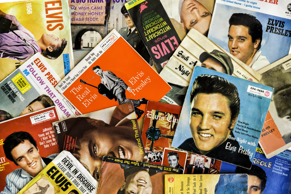 Elvis Presley records