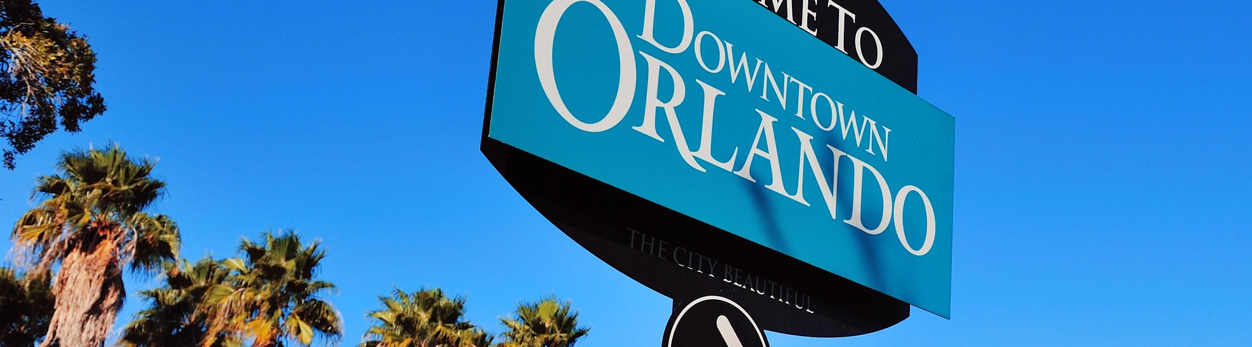 Orlando Florida sign