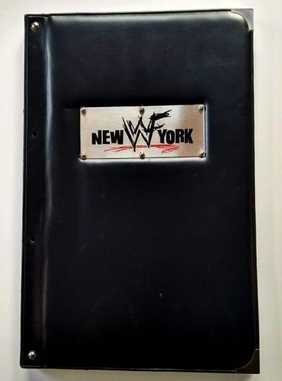WWF New York menu