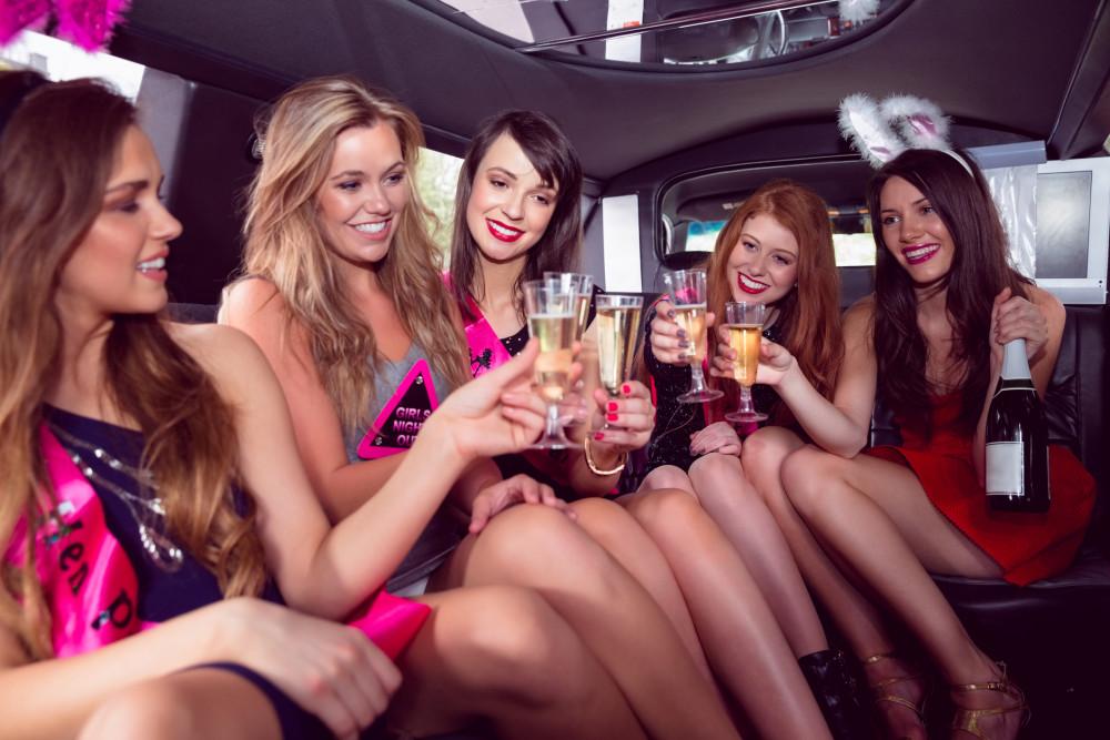 bachelorette party limo