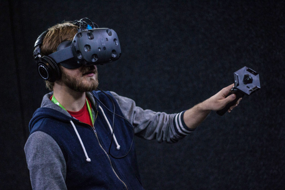 using HTC Vive