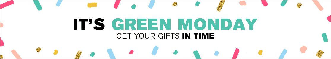 Shop Green Monday Deals Now!