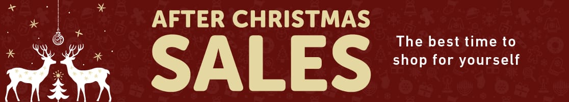 Shop After Christmas Sales Now!