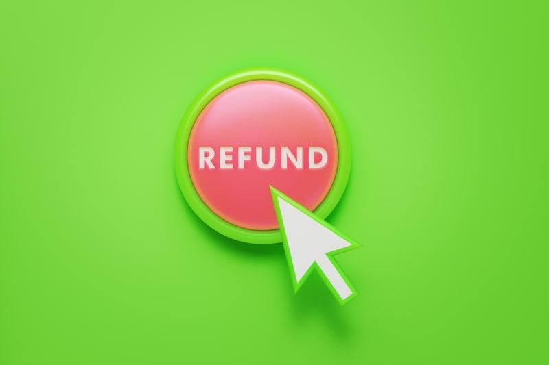 refund button