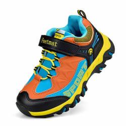 0d2487b04ba8 Marsvovo Boys  Waterproof Hiking Sneakers