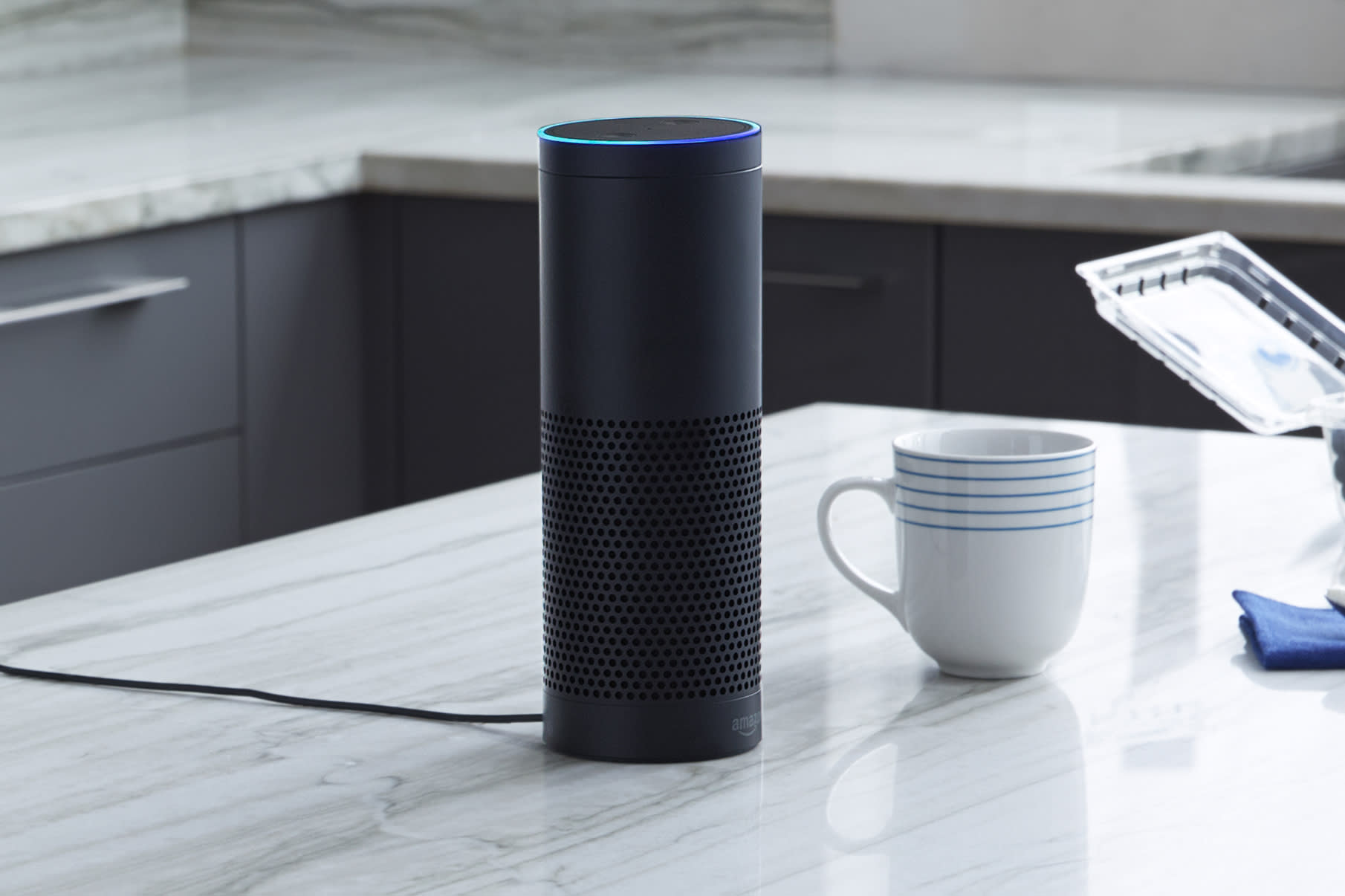 Amazon Echo Alexa virtual assistant