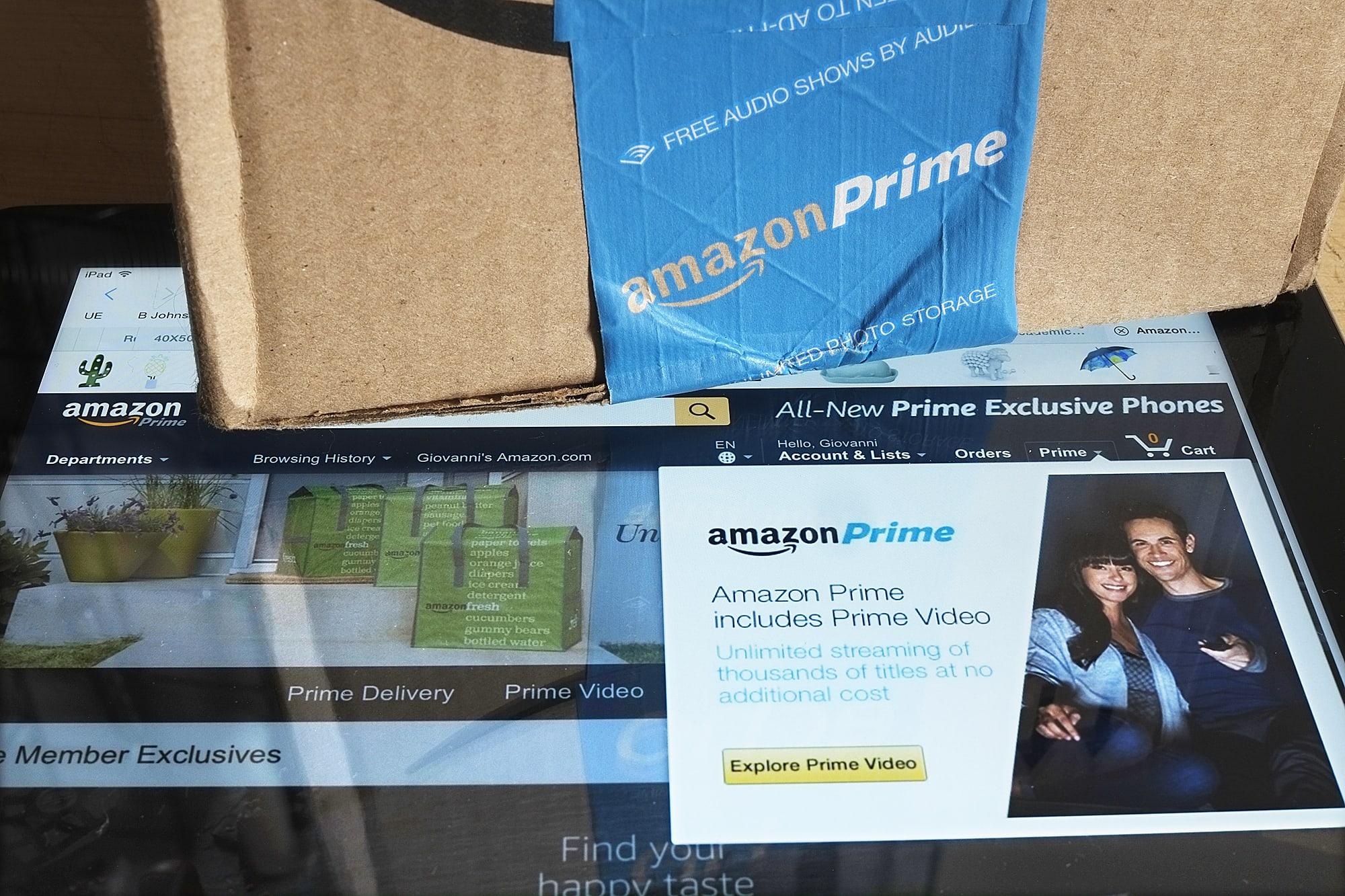 Amazon Prime on iPad