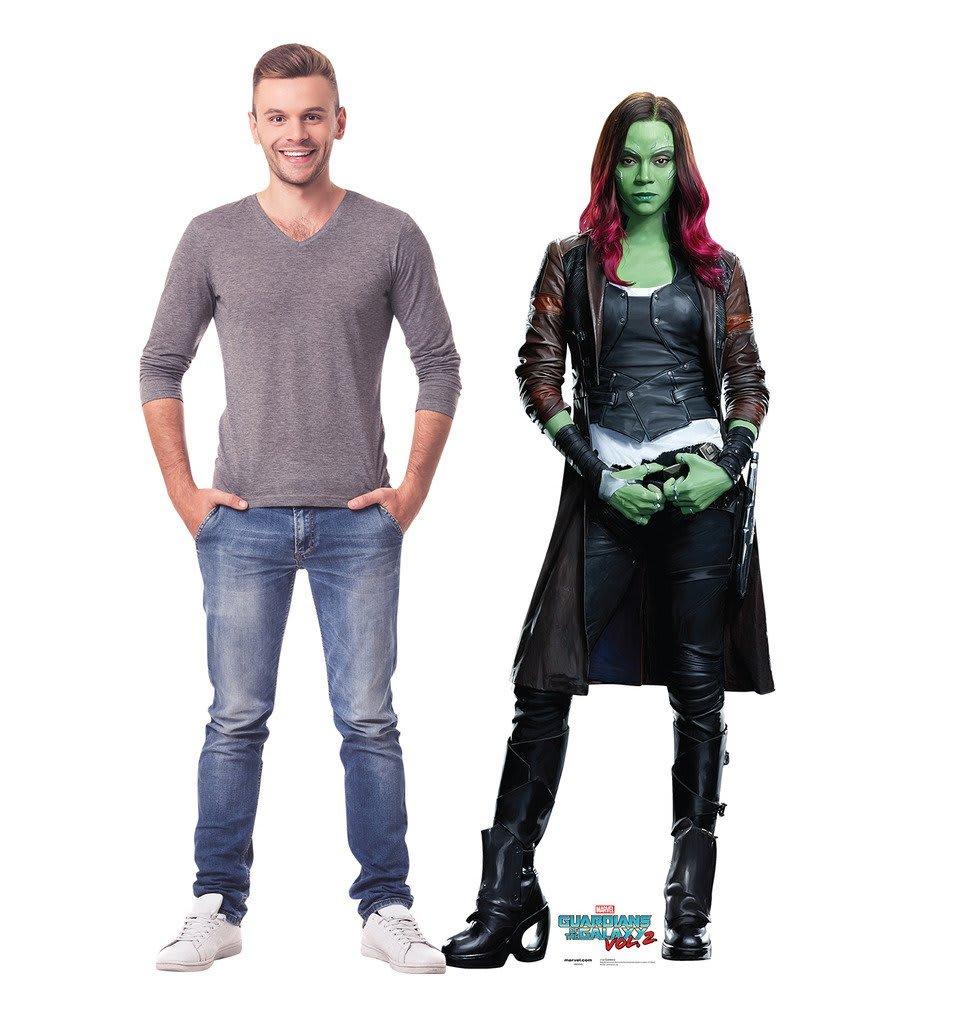 Gamora standee