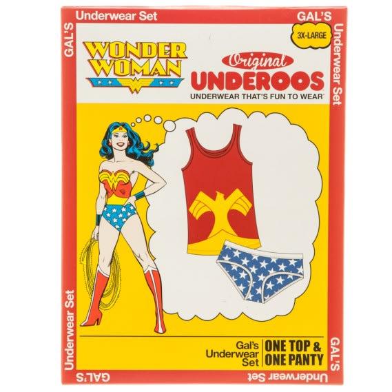Wonder Woman Underoos