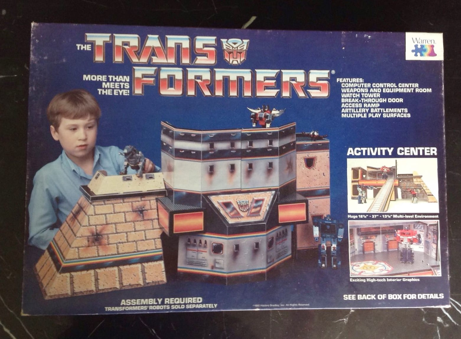 Transformers Activity Center